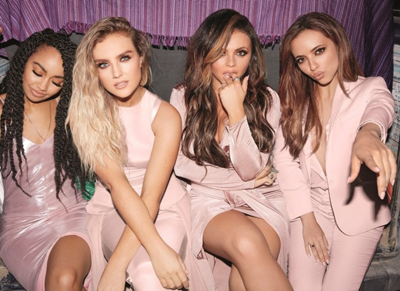 Little Mix in pink Clothes